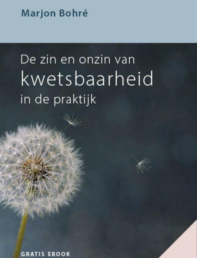 Marjon Bohré - ebook Zin en Onzin van Kwetsbaarheid