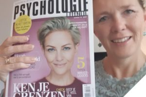 Marjon Bohré in Psychologie Magazine