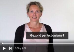 gezond perfectionisme