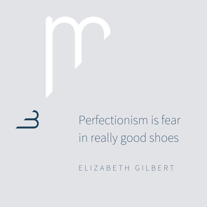 Marjon Bohré - Perfectionism is fear