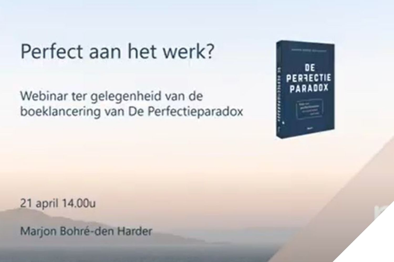 Marjon Bohré Boeklancering De Perfectieparadox
